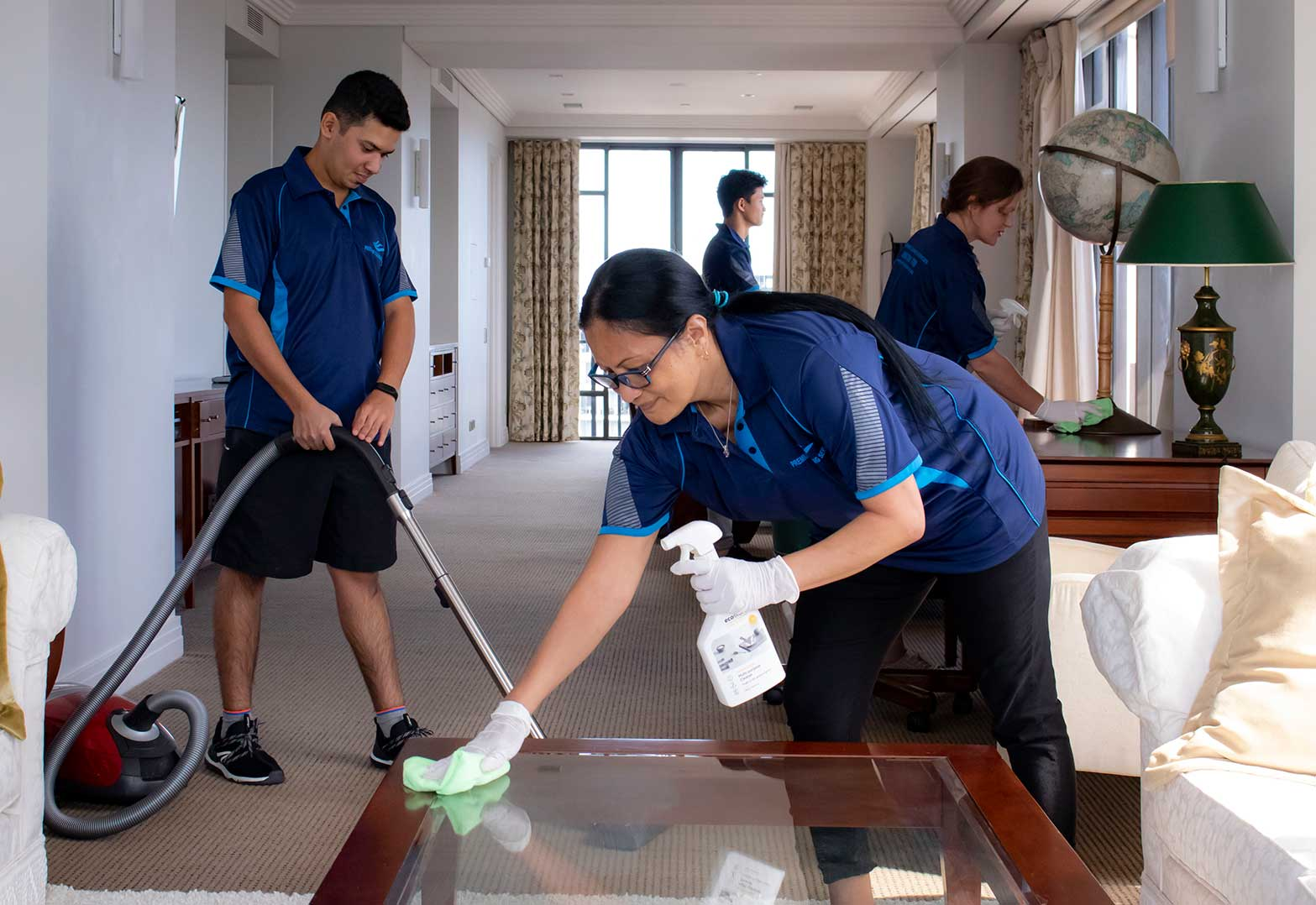 Group Cleaning
