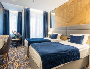 Hotel Window Bed