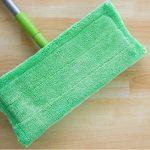 paper towel or mop