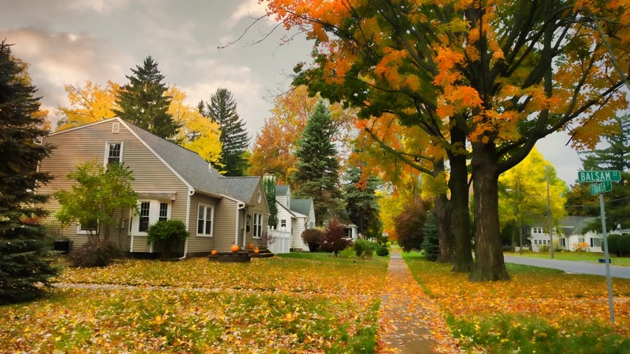 Fall House Cleaning Checklist